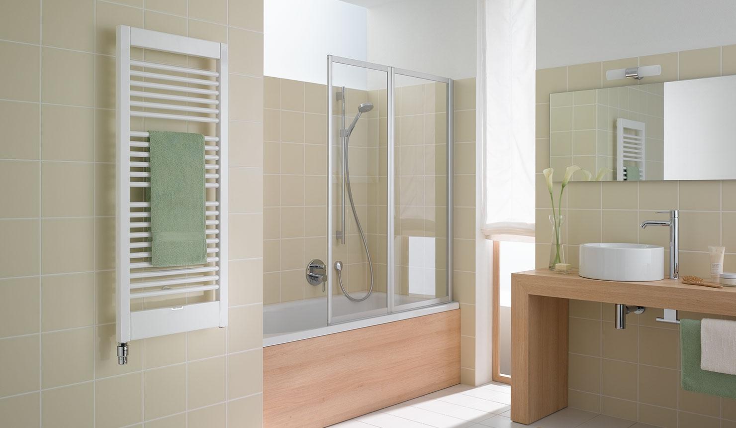 credo uno radiatore da bagno e di design kermi. Black Bedroom Furniture Sets. Home Design Ideas