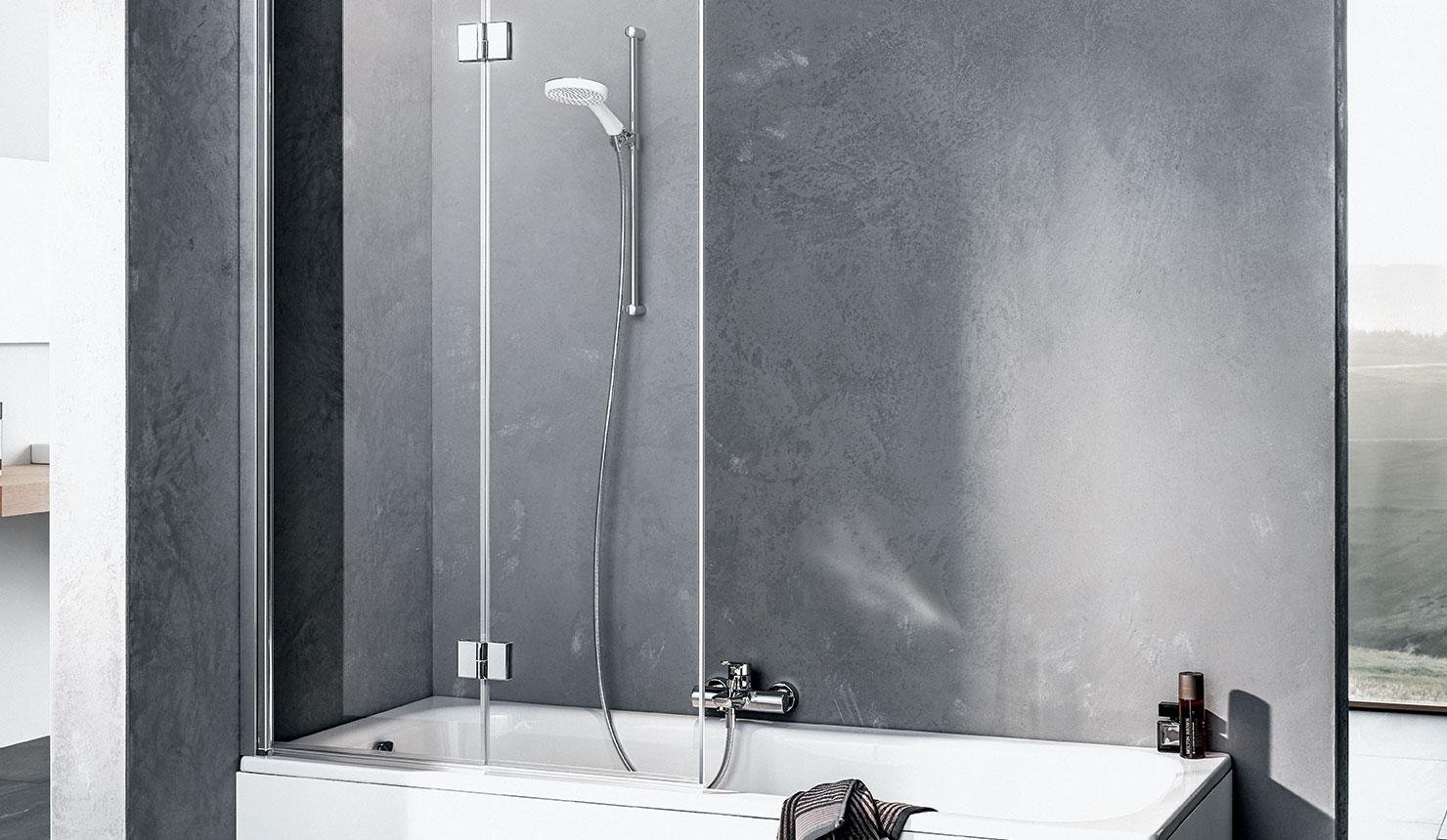 Vasca Da Bagno Misure Standard paraspruzzi per vasche da bagno: il comfort kermi per tutti